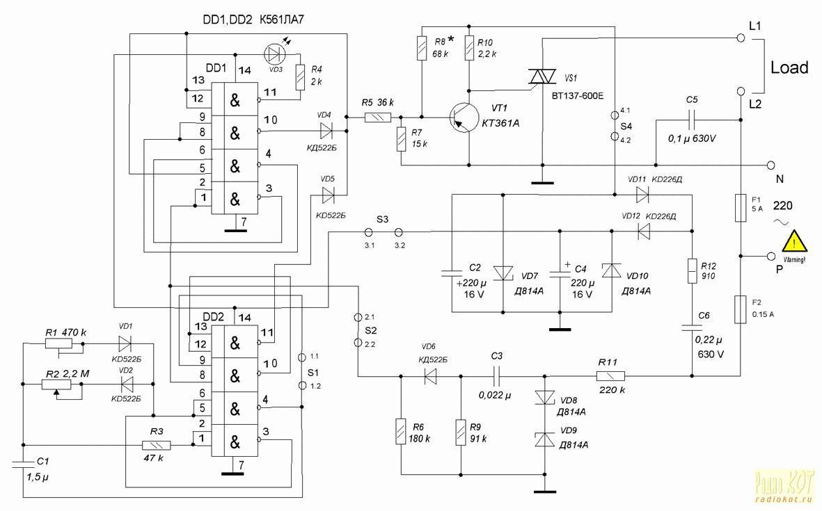 Bt136 600e схема регулятора фото 336