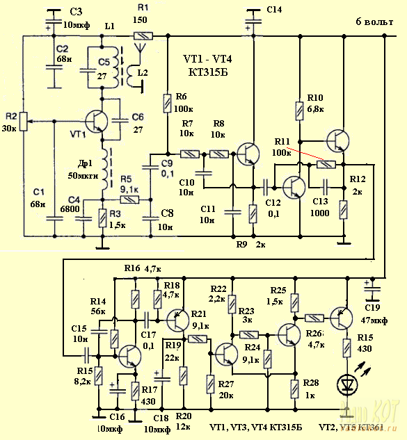 Как сделать простейшее радиоуправление