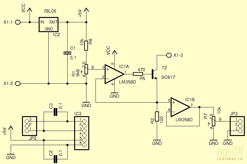 R2 образуют источник тока