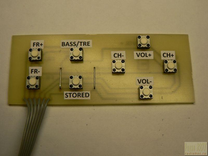 тюнера и микроконтроллера.