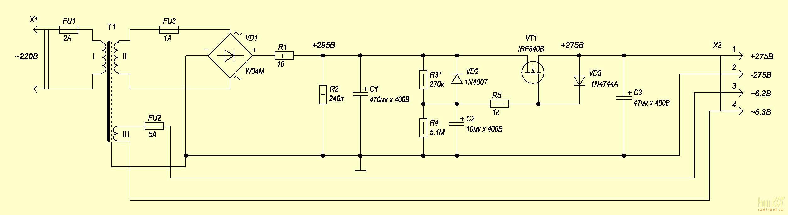 Схема стабилизатора напряжения 220В своими руками для дома 50