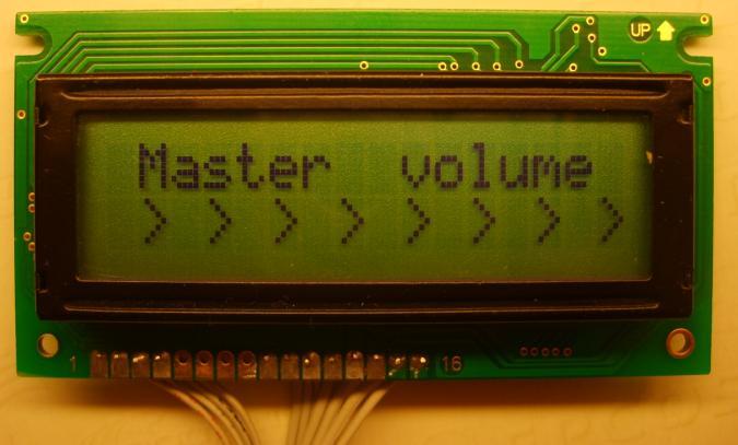 کنترل حجم صدا 6 کانال در TDA7448.