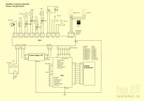 Общая схема устройства