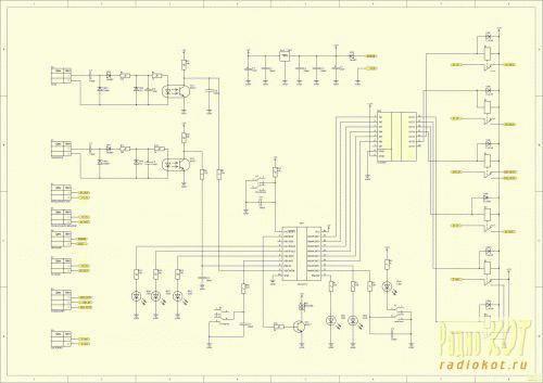 Схемы автозапуска бензогенератора