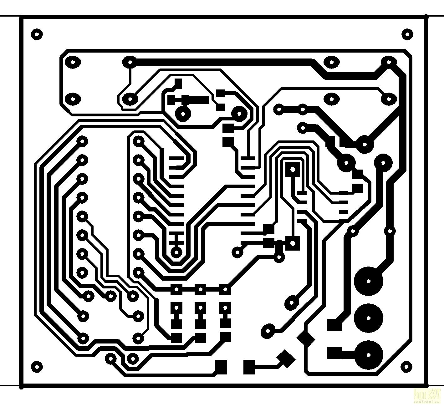 Создание схемы по печатной плате