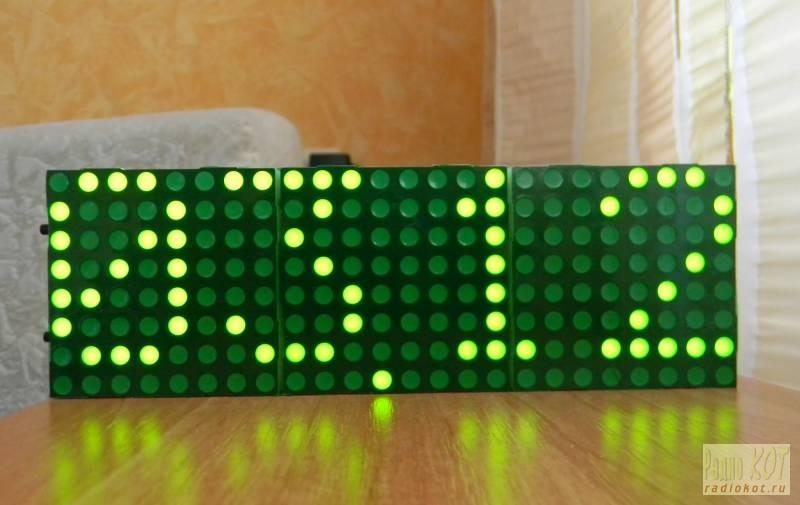 Индикаторы со светофильтром.