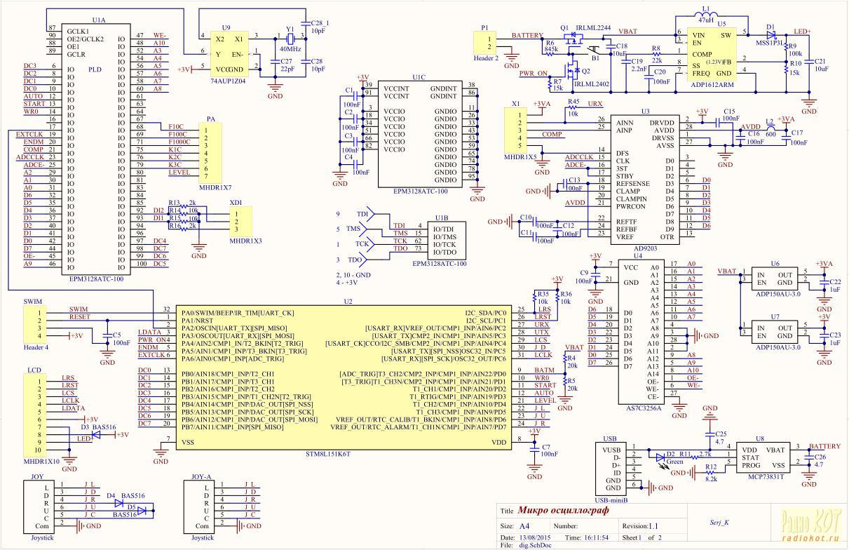 byteblaster схема