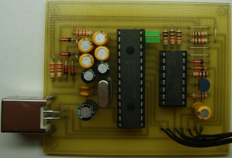 Схема USB - PIC программатора