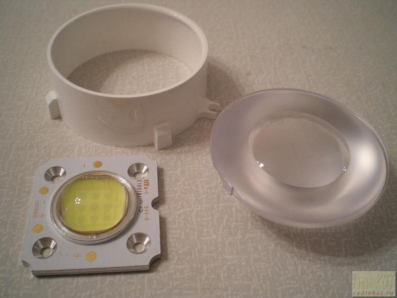 Схема светодиодного стробоскопа.