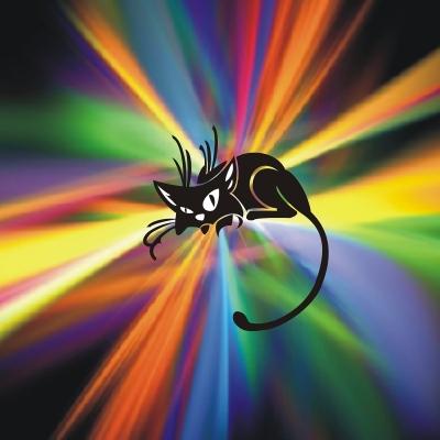 b РадиоКот /b:: Цветомузыкальный медальон.