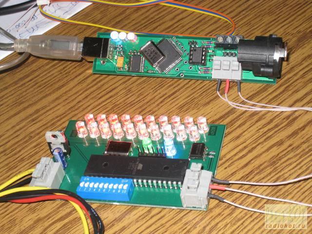 dmx 512 контроллер своими руками