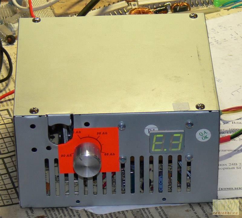 Зарядное устройство из бп компьютера можно установить обе схемы Схема переделки показана ниже универсальное зарядное...