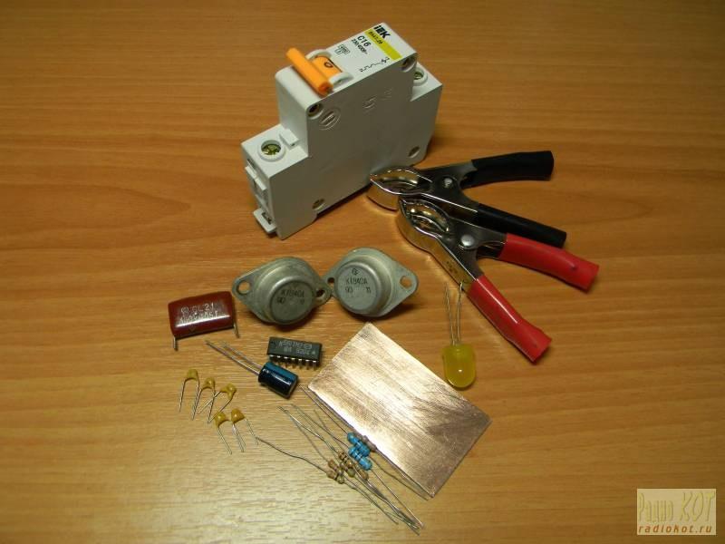 Схема генератора помех на телевизор