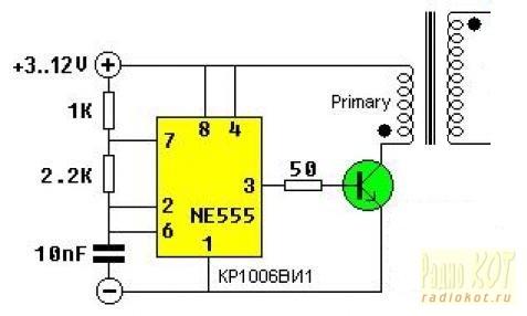 резисторов конденсатор).