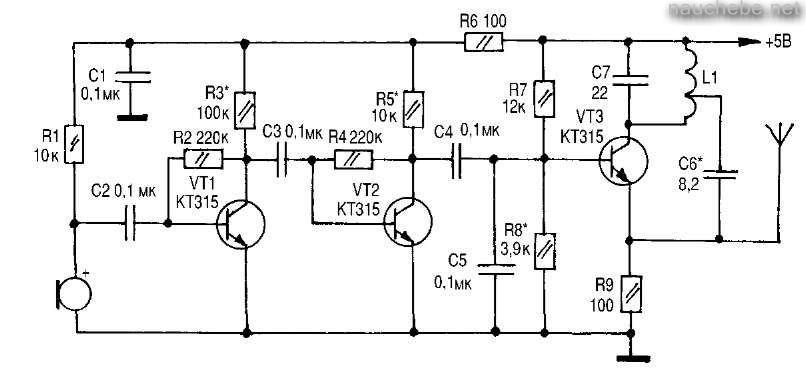 Привет.  На какие конденсаторы можно заменить 0.1 мкф в приложенной схеме, и на что это повлияет.  Спасибо.
