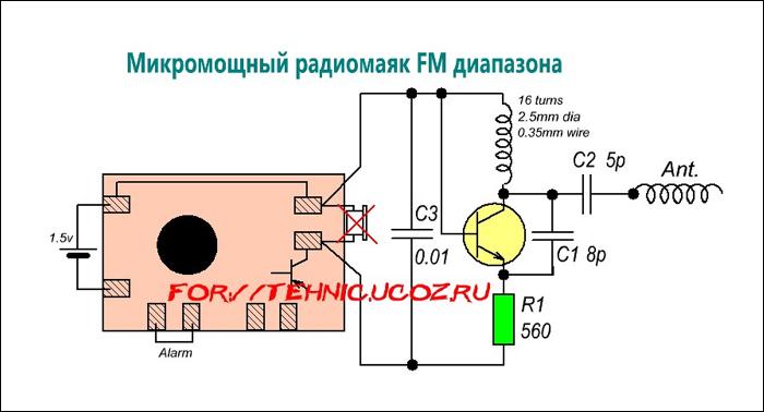 Радиосхемы своими руками на микроконтроллере