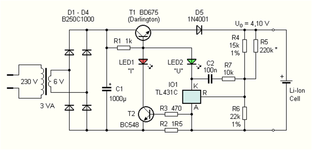 Зарядное устройство для li ion аккумулятора своими