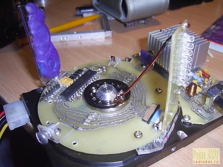 двигатель от HDD на