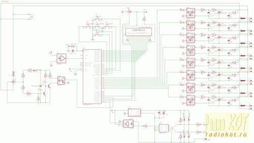 Схема классическая для dmx