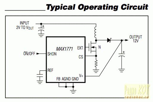 NCP1450ASN50T1G схема тоже