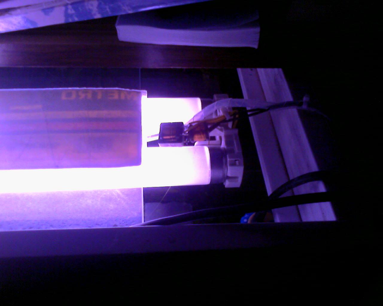 схема подключения дневной лампы накаливания