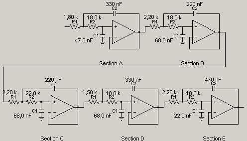 электрическая схема НЧ