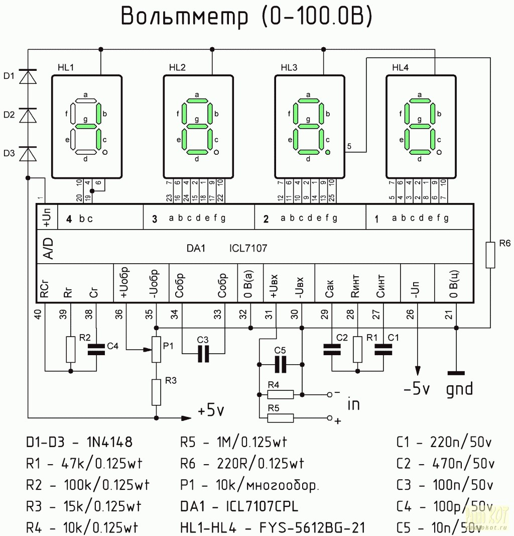 Вольтметр амперметр переменного тока своими руками