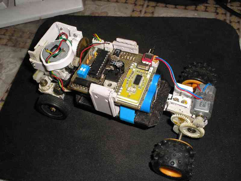 Как сделать машинки с пультом управления