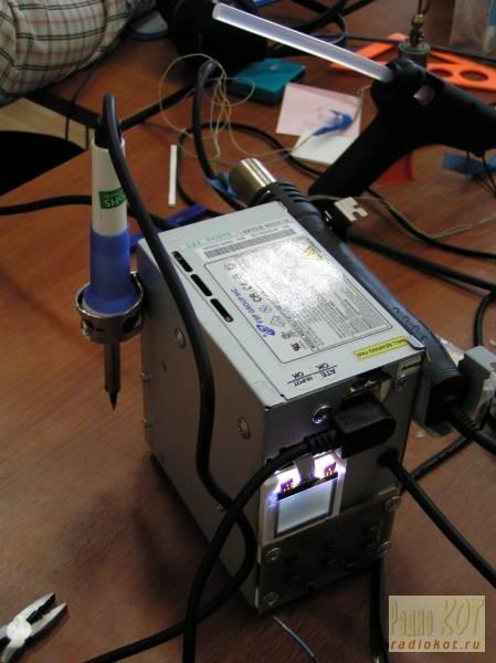 Цифровая паяльная станция своими руками