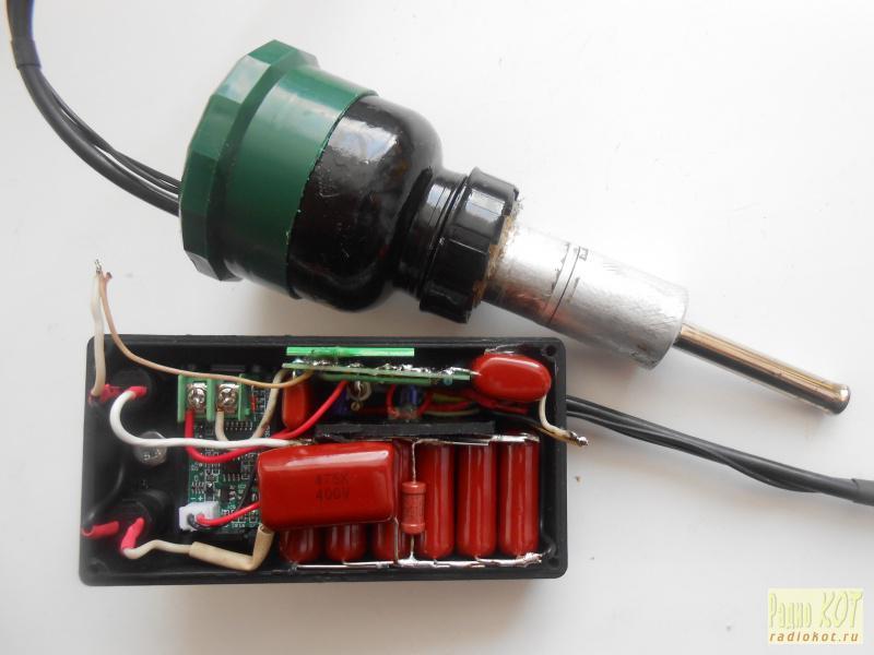Термофен для микросхем своими руками 56