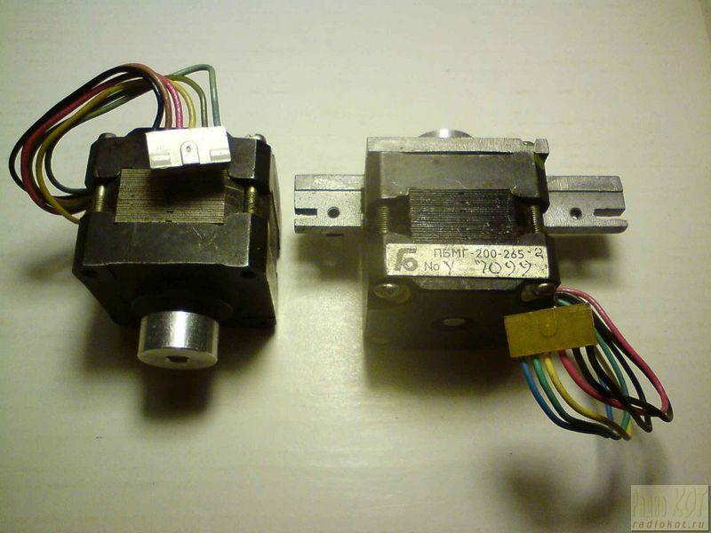 Шаговый двигатель из дисковода 5 дюймов