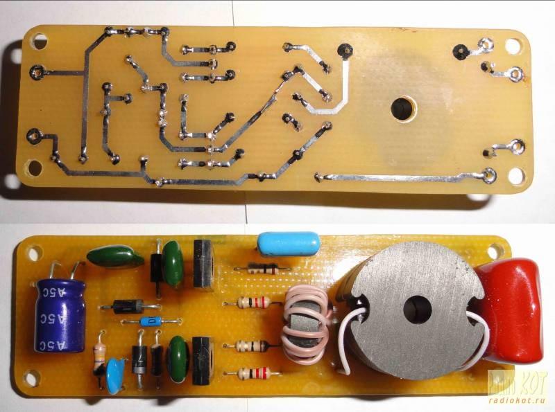 Фото электронного балласта
