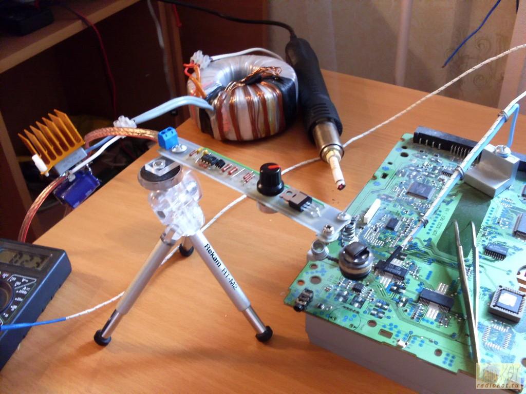 регулятор для паяльника на ne555 схема